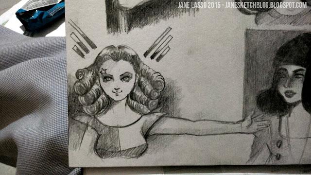 Dibujos manga en lápiz