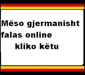 Mëso gjermanisht