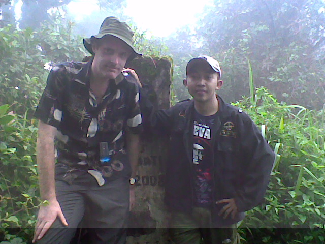 IWAN ERFANTO with Mr. DANIEL PATRICK QUINN (Co-Founder of www.gunungbagging.com)