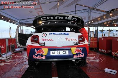 WRC suecia preparativos loeb