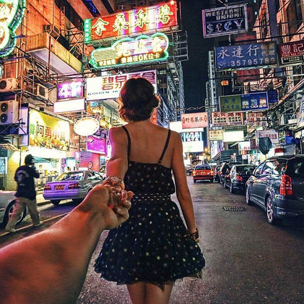 Follow Me To - Hong Kong - Fotógrafo Murad Osmann segue a namorada pelo mundo