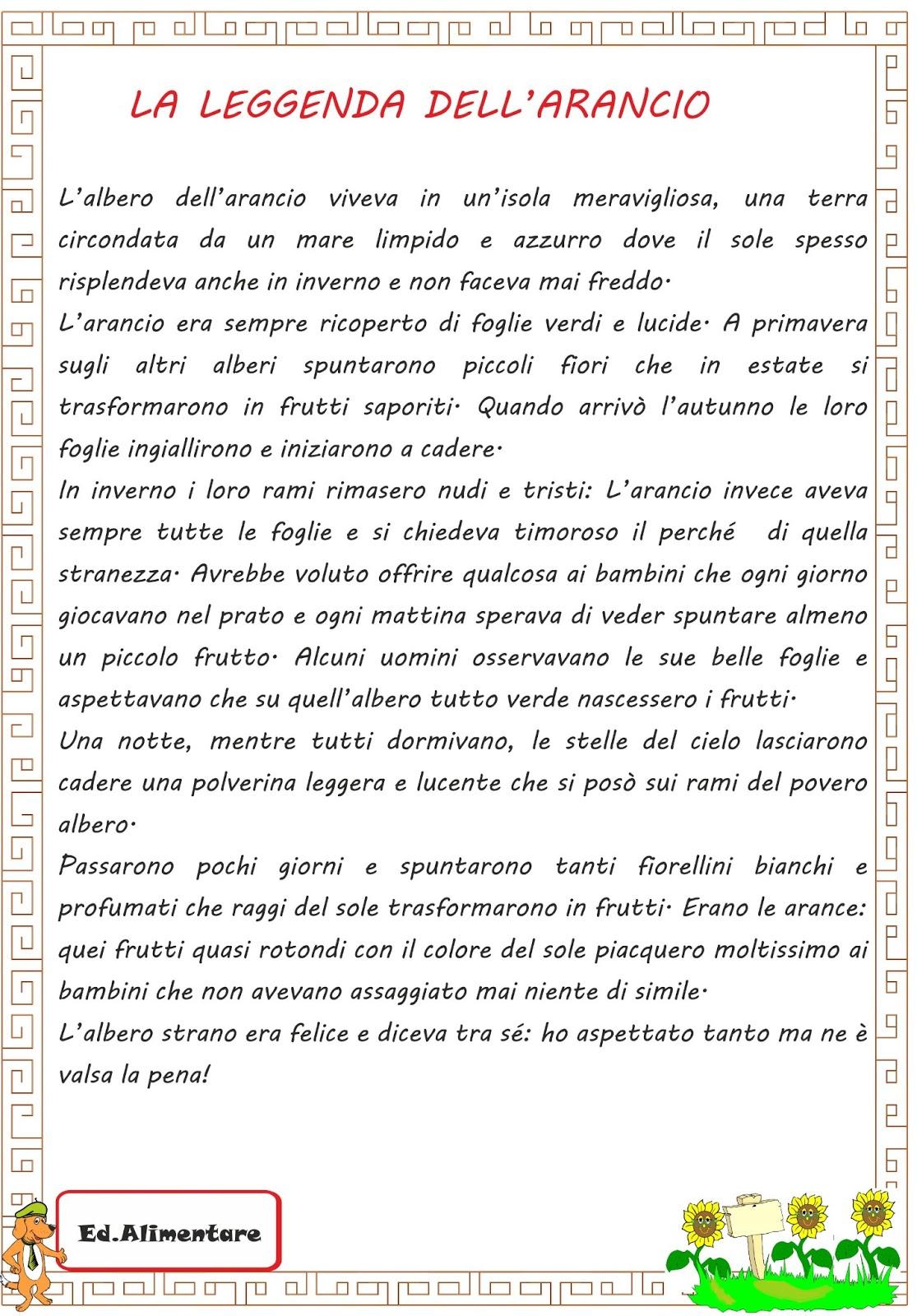 Letture per bambini di prima elementare da stampare ge21 for Storie di natale per bambini