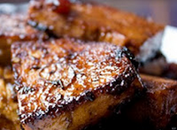 Bife de Seitan Grelhado (vegana)
