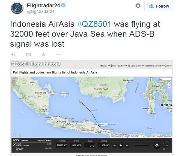 Punca Pesawat AirAsia QZ8501 Terhempas