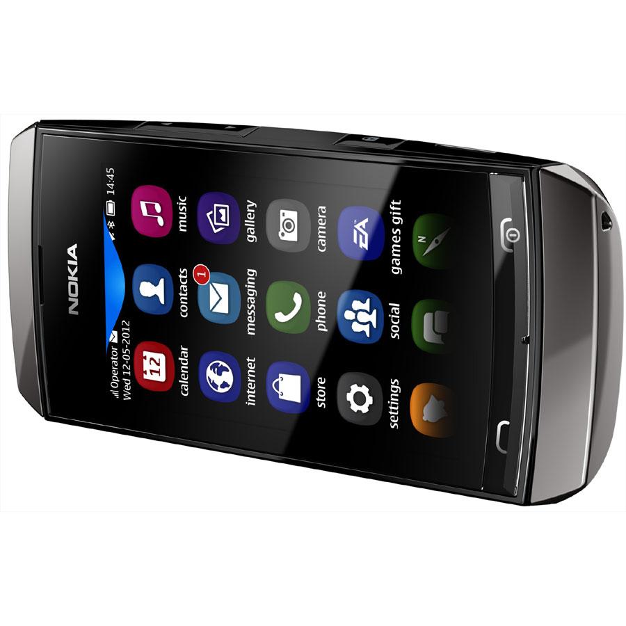 Harga Spesifikasi Nokia Asha 306 - Ponsel Full Touchscreen Murah di