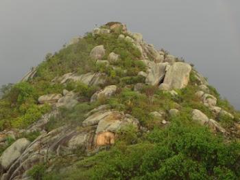 belas montanha de pedra, proximo de Exu