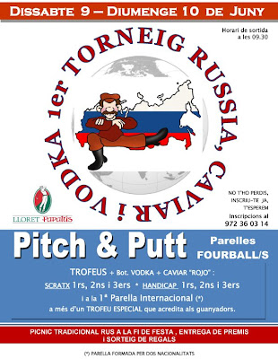torneig Russia al Pitch & Putt PAPALUS