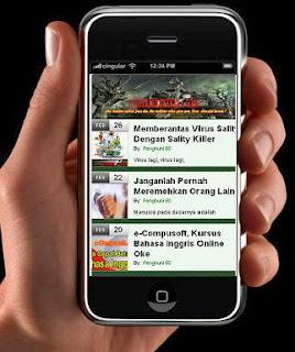 Cara Merubah Blog Kita Menjadi Mobile Blog
