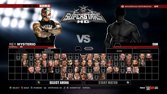 WWE 2K15 for PC