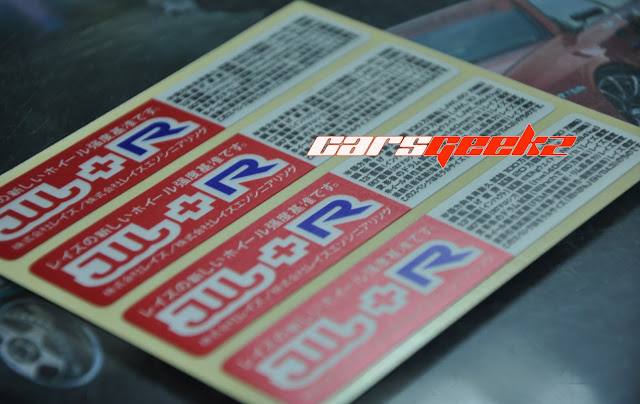 jwl-r red decals stickers