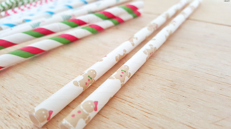 Want to add the perfect touch to your Christmas cocktail or take a stunning photo of your Holiday cake pops? Check out Aardvark Straws!