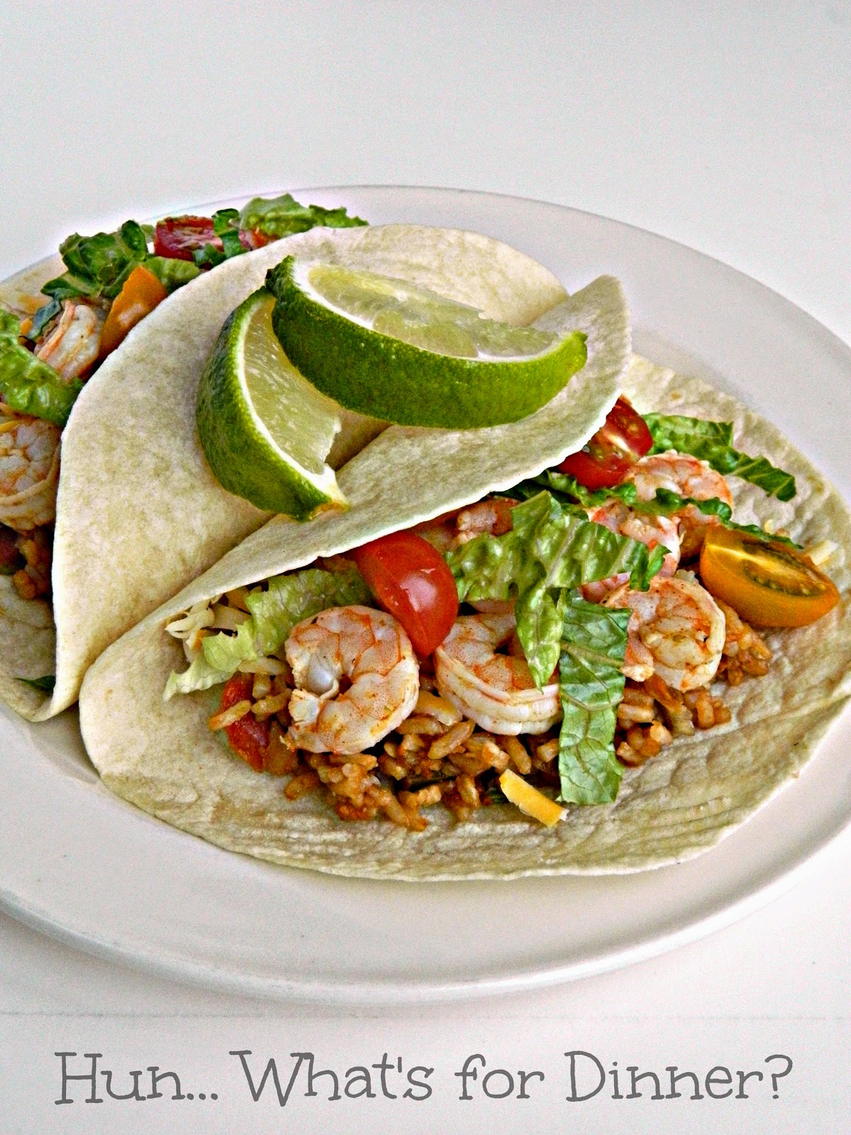Lime Shrimp & Rice Tacos for Cinco de Mayo