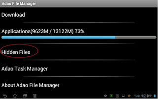 restore file on android hide