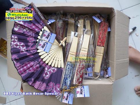 kipas Batik Besar Spesial grosir