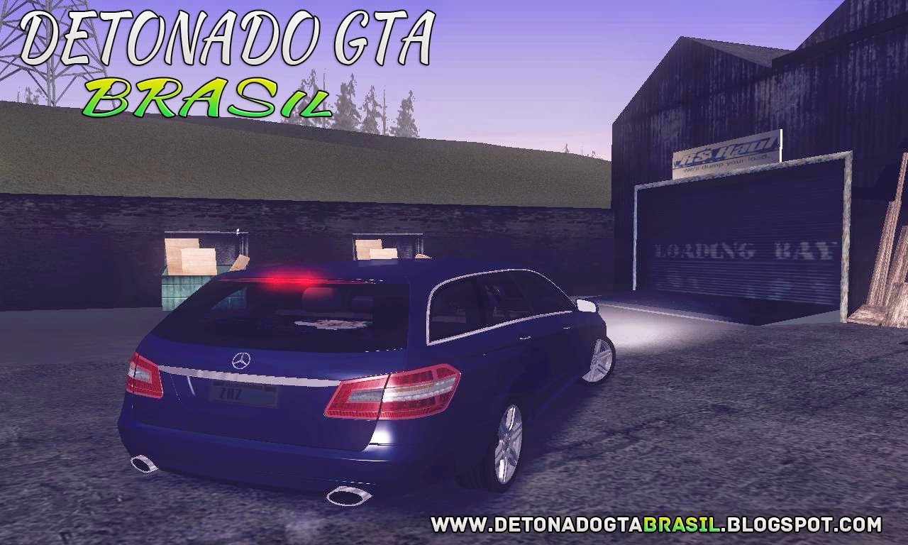 GTA SA - Mercedes Benz E250 Estate