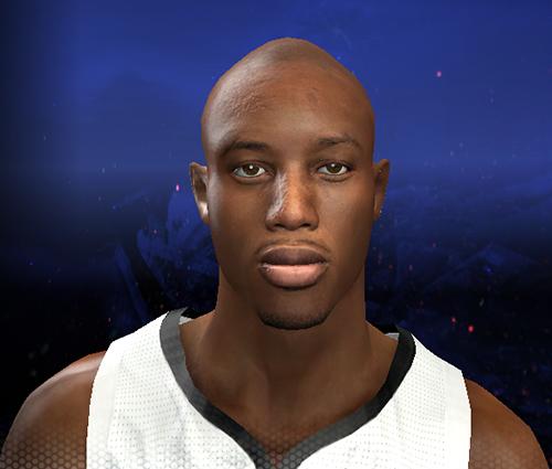 Travis Outlaw Bald   NBA 2K14 Patch