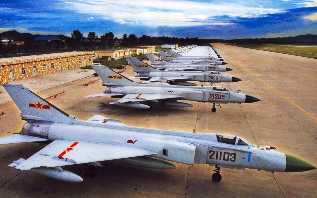 Shenyang J-8 Finback Jet Fighter Wallpaper 4