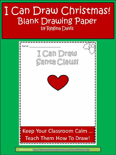 http://www.teacherspayteachers.com/Product/A-Christmas-Drawing-Paper-1022711