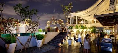 Restoran Romantis Jakarta  (the edge)