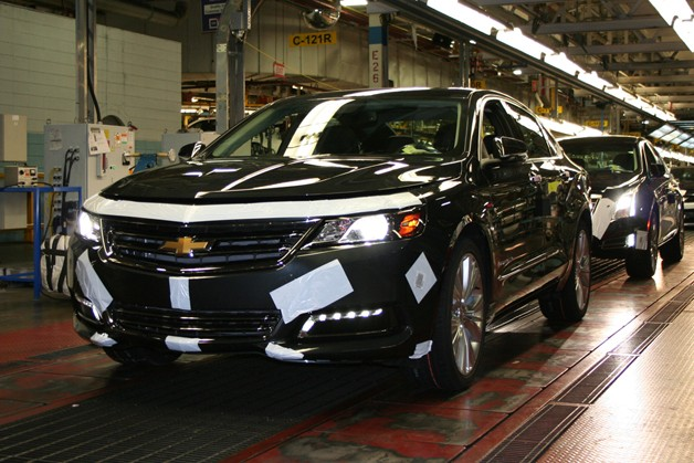 2014 Chevrolet Impala Began Production