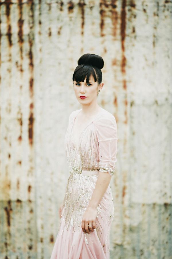 Lulie Marie Jenny Packham Pink Dress