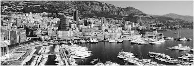 panoramic image of monaco