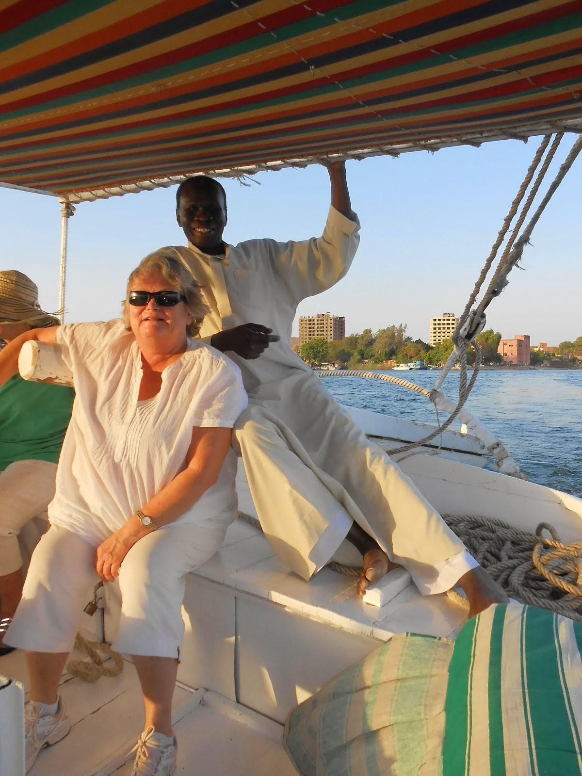 Falluca Sailing in Egypt