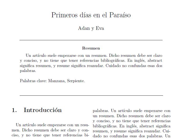 Aprendiendo LaTeX: Cómo escribir un artículo de dos columnas con ...