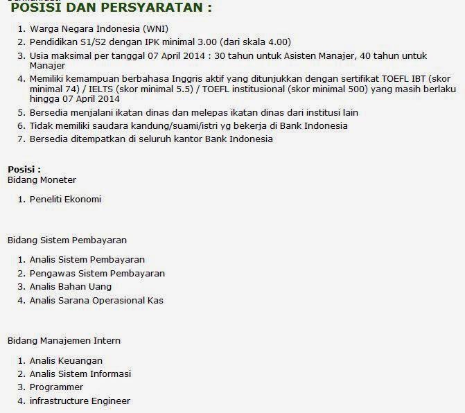 info-loker-bank-indonesia-terbaru-april-2014