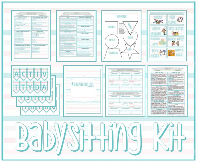 Babysitting Kit - Serving Others