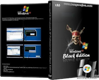 Windows XP Professional SP3 Black Edition [x32/March2013] | 695 Mb