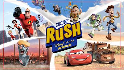 Kinect Rush, una Aventura Disney Pixar