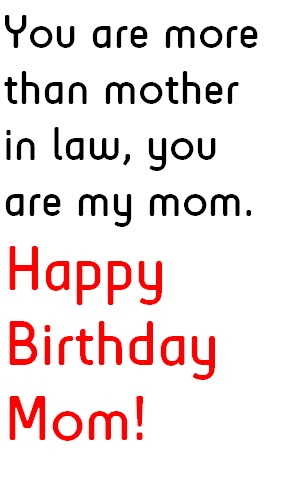 Mother in Law Birthday Quotes, Wishes and Greetings