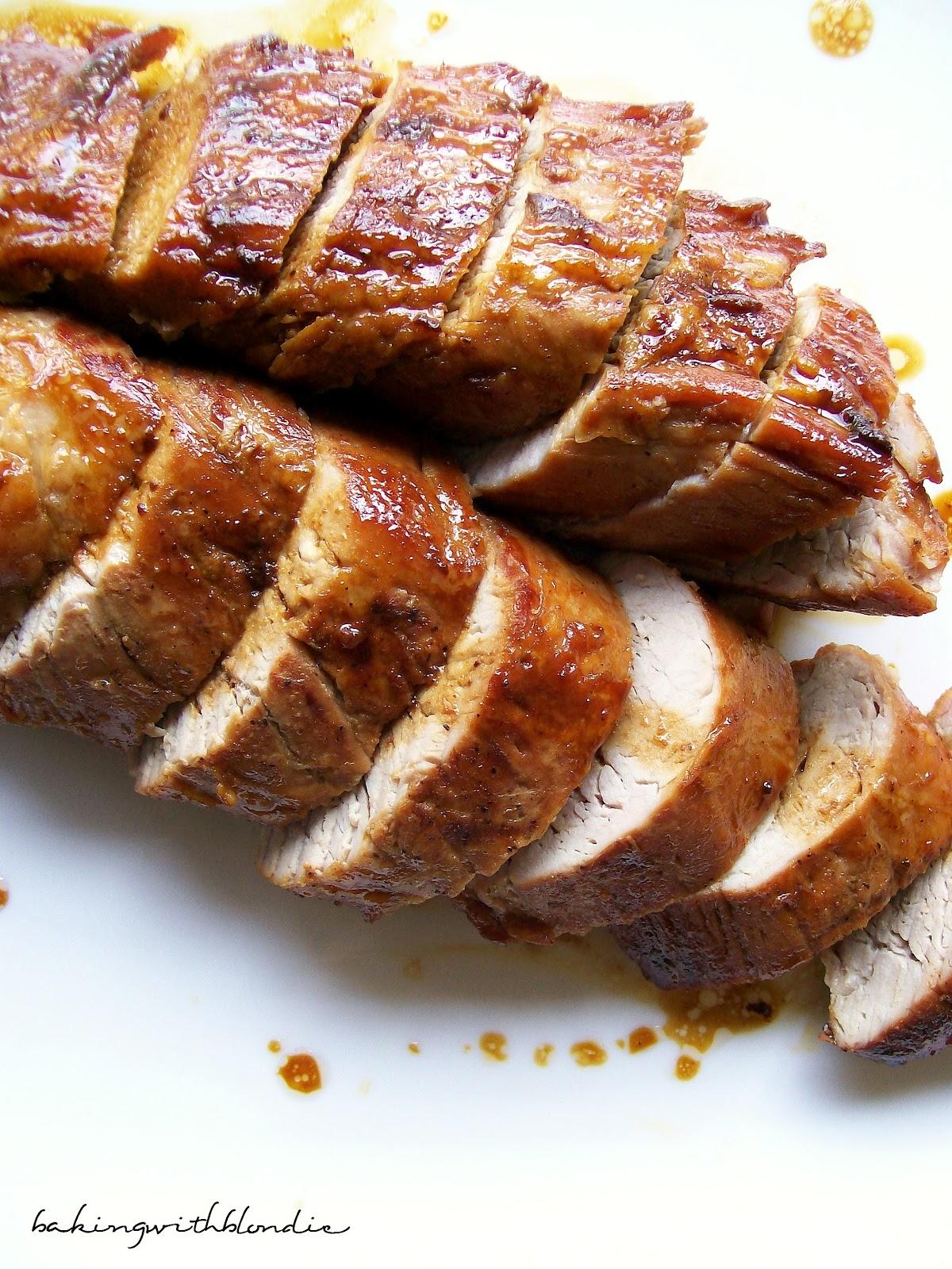 Baking with Blondie : Honey Butter Pork Tenderloin