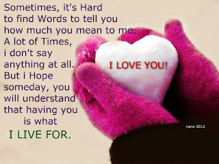 i love you and heart in hand quote