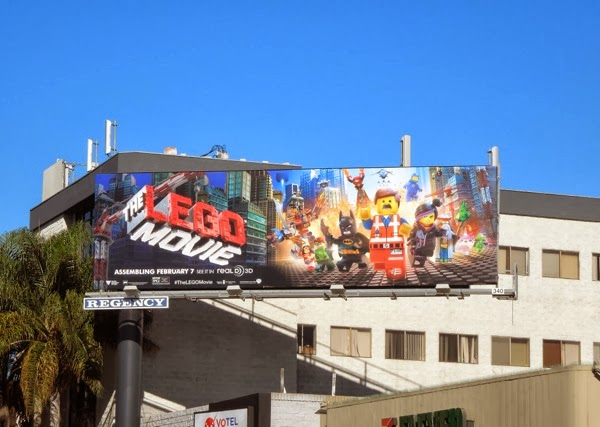 The Lego Movie billboard