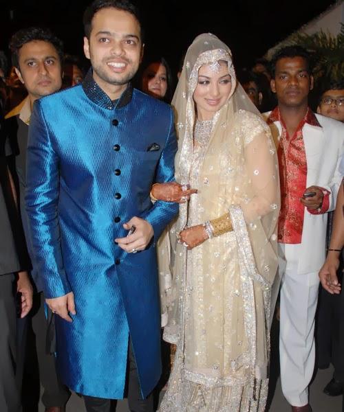 Bollywood Star Ayesha Takia and Farhan Azmi Wedding