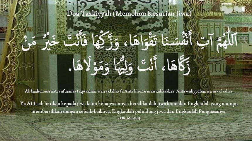 Doa Tazkiyyah