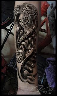 best tattoo studio in bangalore astron tattoos india iron maiden eddie tattoo design. Black Bedroom Furniture Sets. Home Design Ideas