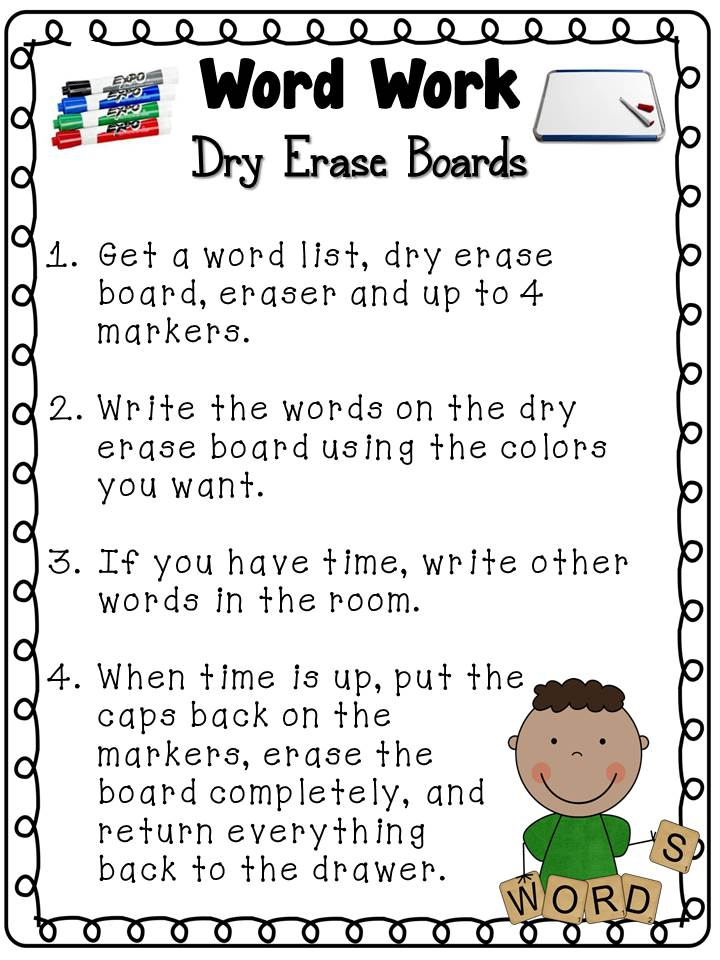 Worksheets Word Work Worksheets toris teacher tips daily 5 word work giant freebie i will give you a link at the end for all papers show in post this is direction sheet that stays drawer kids