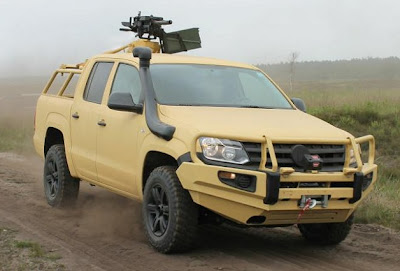 Rheinmetall Defense outfits Volkswagen Amarok for world conquest
