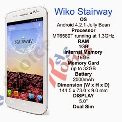 Wiko Stairway specs and stock rom download
