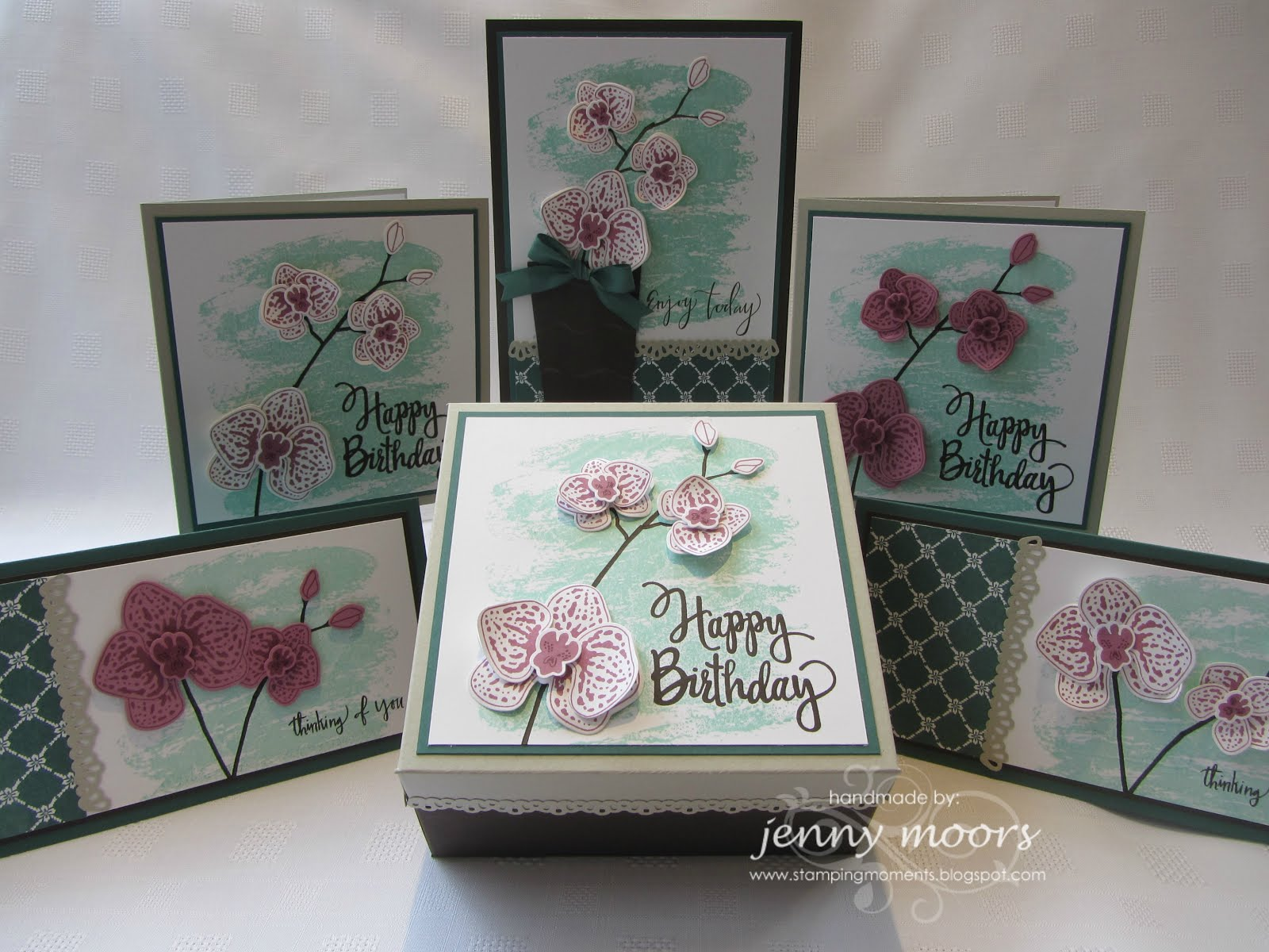 Climbing Orchid Stamp Class