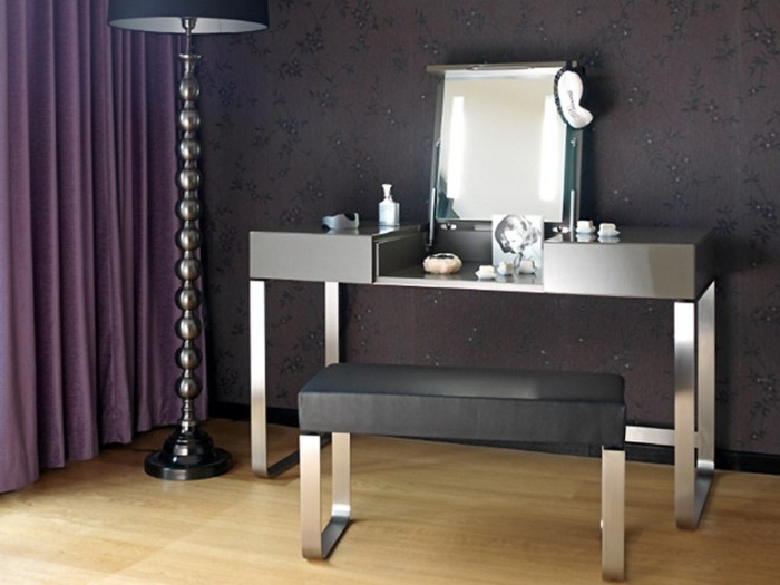 25 latest dressing table design ideas for all bedroom styles for Modern make up table