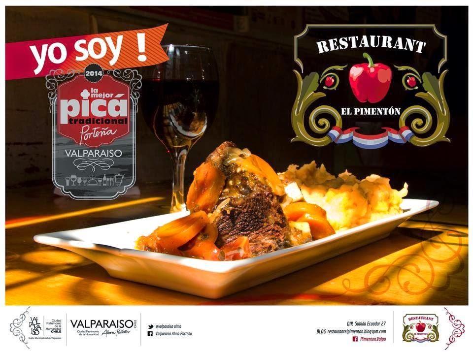 Restaurant El Pimentón: La mejor picá tradicional de Valparaíso. Abierto viernes, sábado y domingo