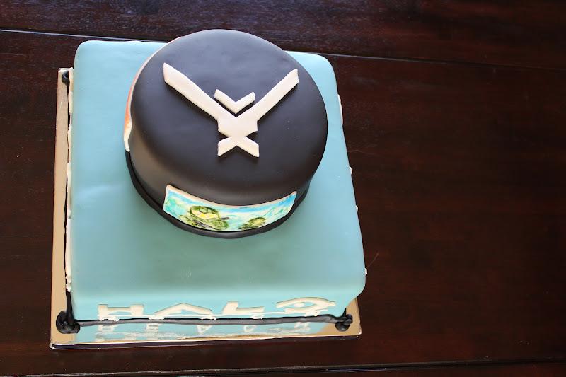 Luscious Confections Halo Cake