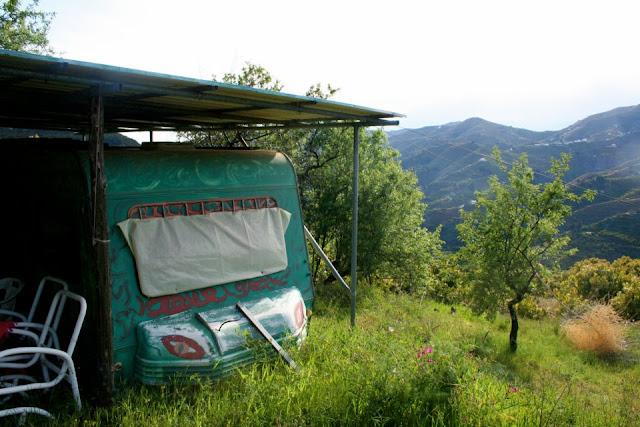 Andalusia, caravan, caravan camaflage, helpx, adventrue