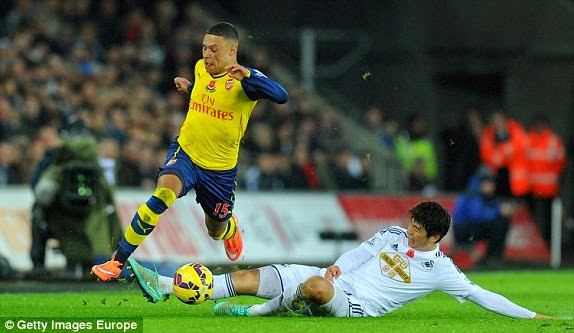 VIDEO Swansea City Arsenal 2-1 Premier League