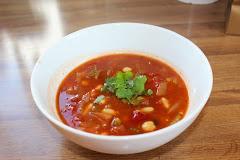 Marokkansk vegetarsuppe
