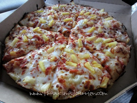 Domino's Pan Pizza review